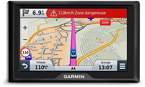 Garmin Drive 51 LMT-S EU Navigationsgerät - lebenslang Kartenupdates & Verkehrsinfos, Sicherheitspaket, 5 Zoll (12,7cm) Touchdisplay