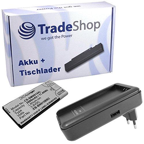 SET Angebot Akku + Ladegerät Ladestation Tischlader für Samsung Galaxy Note Edge 4G SM-N915 EB-BN915BBC, EB-BN915BBE, EB-BN915BBK