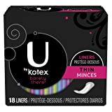 Best Barely There Panties - Kotex U Barely There Liners Thin 18 ct Review