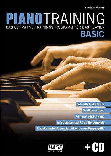 mit CD: Das ultimative Trainingsprogramm für das Klavier ()