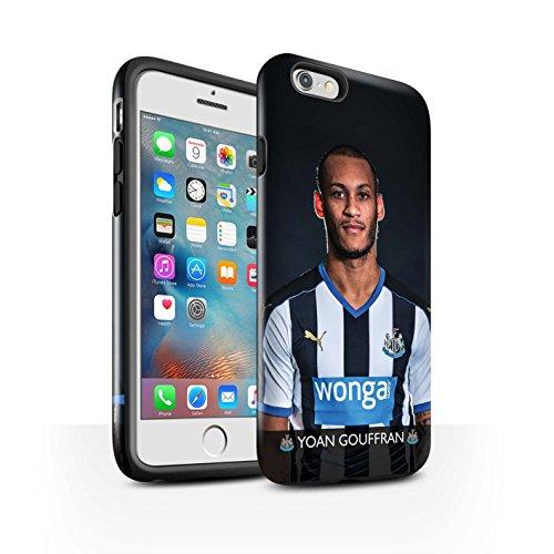 Offiziell Newcastle United FC Hülle / Glanz Harten Stoßfest Case für Apple iPhone 6+/Plus 5.5 / Elliot Muster / NUFC Fussballspieler 15/16 Kollektion Gouffran