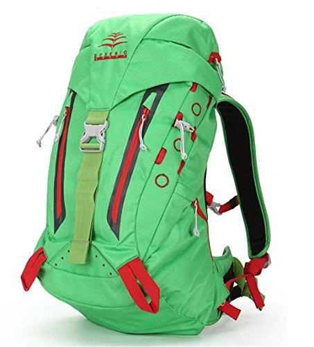 Bergsteigen Tasche Schulter männlich weiblich im Freien Wanderrucksack Grün