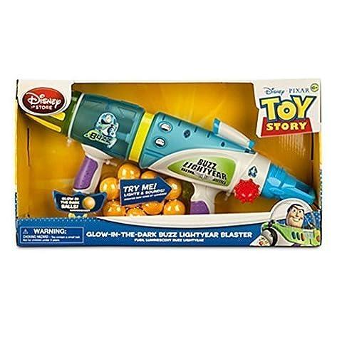Officiel Disney Toy Story Buzz Lightyear lueur dans le sombre Blaster