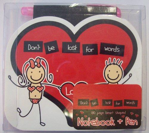 zbuch und Stift 80Seite ideal für Valetines Tag ()