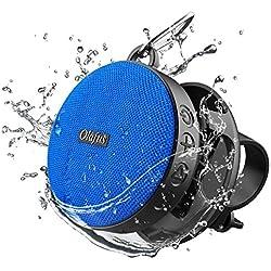 Olafus Enceinte Bluetooth Vélo, IPX7 Etanche, 1200mAh, 10H Autonomie, Haut Parleur Portable sans Fil, Support Vélo Détachable, Mic Intégré, Idéal pour Extérieur, Cyclisme, Randonnée, Bluetooth 5.0