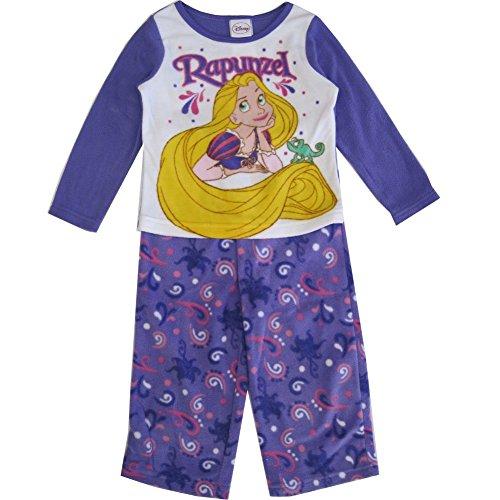Disney Kleine M?dchen Rapunzel Bild drucken 2 Pc Pyjama Set 2 t lila
