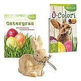 Heitmann Eierfarben 30059 - Bastelset Ostern 3 teilig, inklusive Eierfarbe Ö - Colori für ca. 12 Eier