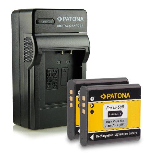 M&L Mobiles® | Novedad - 4in1 Cargador + 2x Batería con Infochip · 100% compatible con Li-50B Olympus mju Tough 1010 | 1020 | 1030 SW | 6000 | 8000 | 9000 | 5010 | 9010 | 6010 | 8010 | SH21 | SH25 MR | SP720 UZ | SP800 | SP810 UZ | SZ10 | SZ11 | SZ14 | SZ20 | SZ31MR | SZ30MR | TG620 | TG810 | TG820 | VG170 | VR340 | VR360 | XZ1 -- D-Li92 Pentax Optio X70 | RZ10 | RZ18 | I-10 | WG-1 GPS | WG-2 GPS - DB-100 Ricoh CX3 | CX4 | CX5 | CX6 | PX