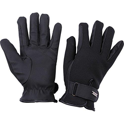 CATAGO Reithandschuhe Handschuhe Winterhandschuhe Neopren Pro schwarz (12 Jahre)