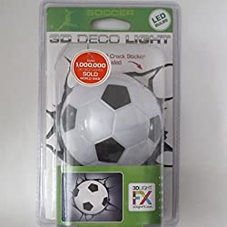 3d Deco Night Light Soccer Ball Mini