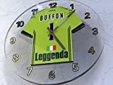 MyShirt123 Gianluigi Buffon 1???Juventus FC Fu?Ball Wanduhr???Fu?Ball-Legenden Limited Edition