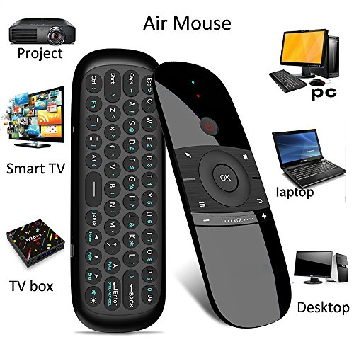 Air Maus,penkou 2,4 GHz Wireless Tastatur Motion Smart TV Fernbedienung für Android TV Box, HTPC, IPTV, PC, Pad (Ps3-ir-steuerung)