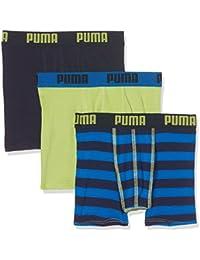 Puma 575334014, Bóxer Para Niños, Pack de 3