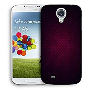 Snoogg Pink Star Pattern Design Printed Protective Phone Back Case Cover For Samsung S4 / S IIII