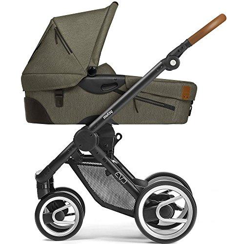Mutsy Kinderwagen EVO - Industrial olive / black - Modell 2017