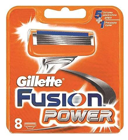 8ou 16lames Gillette Lames de rasoir Fusion Power