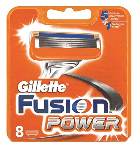 8 oder 16 Klingen Gillette Fusion Power Rasierklingen (8 Stück)