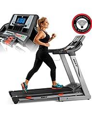BH Fitness i.Zx7 G6473iRF cinta de correr motivacional - 18Km/h - Superficie carrera extra ancha 135x51cm - 2.75CV - Inclinación hasta 12% - Android/iOS compatible