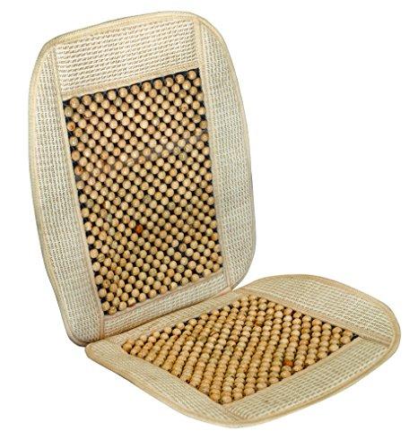Vip - Respaldo de asiento para coche con bolas de madera, modelo...
