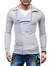 BOLF – Sweat-shirt – Fermeture éclair– STX HUGO – Homme