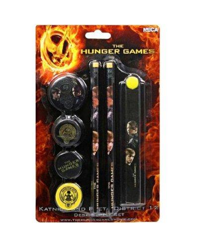 Bücher Games-trilogie Hunger (NECA–The Hunger Games, Katniss und Peeta, Schreibwaren-Set (nec0nc26034))