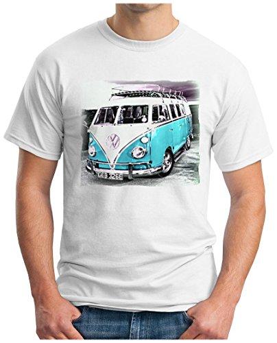 om3-samba-bus-turkis-t-shirt-classic-kult-bus-t1-t2-peace-hippie-flower-power-mobil-music-l-weiss