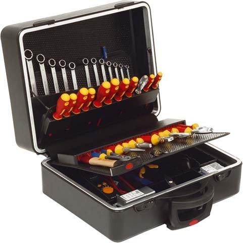 Preisvergleich Produktbild Klauke Handwerkzeugkoffer KL890TB88 Werkzeugset 4012078622028