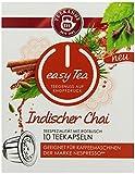 Teekanne easy Tea Indischer Chai, 10 Stück Teekapseln für Nespresso - Kaffeemaschinen, 6x 10er Pack (6 x 30 g)