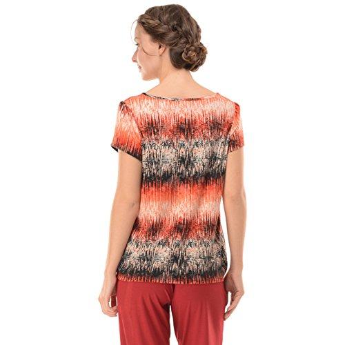 Anzug/Damen Crew Neck Pyjama/ kurze Ärmel abgeschnitten Hose/Pyjamas B