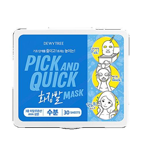 Dewytree Pick & Schnell 30 Tage Mask 3 Typen zur Auswahl Dewytree Mask Maskpack Masksheet (Ernährung) (Pick-tag)
