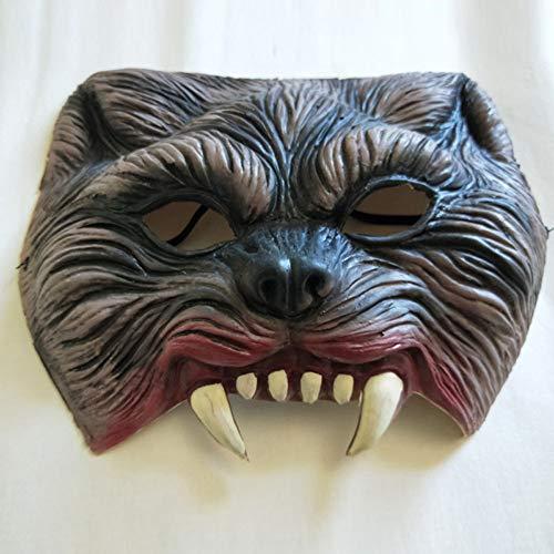 e Zähne Maske, Latex Horror Maske, Zombie-Maske ()