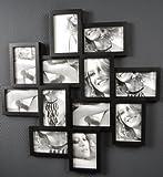 Bilderrahmen Collage 10 x 15 cm Roulette II 12 Fotos Fotorahmen Fotogalerie schwarz