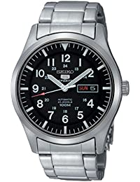 Seiko Men's Analogue Automatic Watch with Stainless Steel Bracelet – SNZG13K1