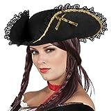 Boland 81901 Erwachsenenhut Pirat Fanny, One Size