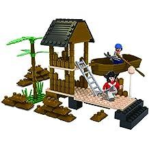 Bloque de construcción edificio inteligente 150pcs ladrillo mar Rover Asamblea Set–Ataque Pirata Isla naufragio juguete Boxset