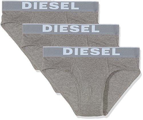 Diesel Herren Slip 00SKZP-0NTGA, 3er Pack, Grau (Grau 96X)