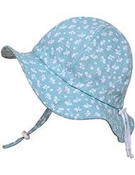 Sombrero de sol para Niños 50+ UPF transpirable, tamaño ajustable con barbijo