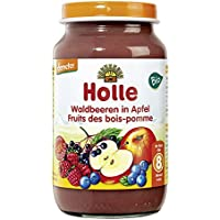 Holle Bio Waldbeeren in Apfel (6 x 220 gr)
