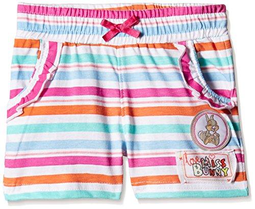 Disney Baby Girls' Shorts (TC 2854_Multi-Coloured_9-12 Months)