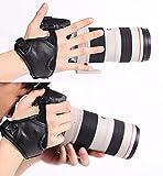 Withlin professionnel rapide tir PU bracelet en cuir caméra Grip poignet bande courroie pour appareil photo SLR DSLR(Canon Nikon Sony Pentax Olympus,etc) (poignet poignée)