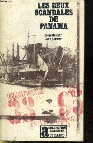 LES DEUX SCANDALES DE PANAMA. par J. Bouvier