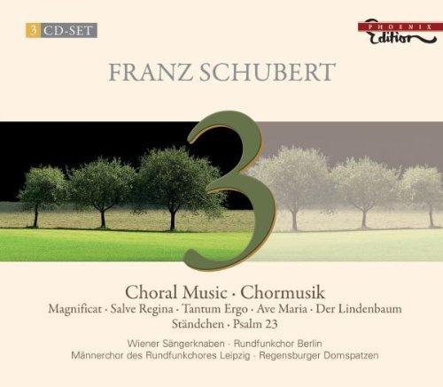 SCHUBERT: Choral Music / Wiener Sängerknaben · Vienna Boys' Choir · Rundfunkchor Berlin · Männerchor Des Rundfunkchores Leipzig · Regensburger Domspatzen · Rias-Kammerchor · Berliner Männerchor