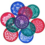 Style Up Rangoli Stencil for making Rangoli for Festive Decorations, Home Décor, Other Celebrations etc: Stencil Dia Set OF 10