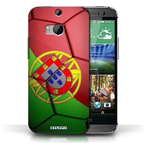 Coque de Stuff4 / Coque pour HTC One/1 M8 / Allemagne Design / Nations de Football Collection Portugal
