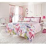 Fashion Schmetterling Single Bettbezug Set Pink