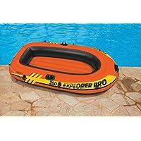 Intex Explorer Pro 200-Remo per barche gonfiabile, barche e maniglia, per sport acquatici - Explorer 200 Barche