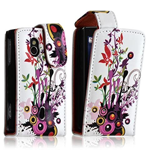 Seluxion - Housse coque étui pour Sony Ericsson Xperia Mini Pro (SK17i) avec motif HF12