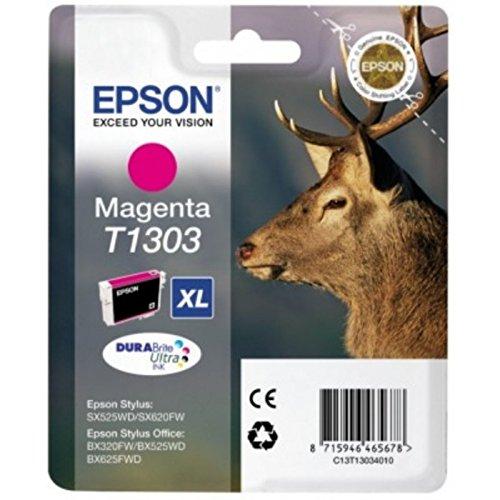 Preisvergleich Produktbild Epson original - Epson WorkForce WF-7525 (T1303 / C 13 T 13034020) - Tintenpatrone magenta - 580 Seiten - 10,1ml