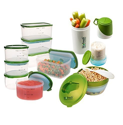 fit-fresh-perfect-portion-kit-with-breakfast-chiller-and-snacker-green-by-fit-fresh