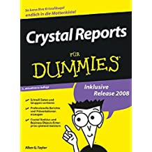 [(Crystal Reports Fur Dummies)] [By (author) Allen G. Taylor ] published on (March, 2009)